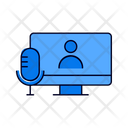 Chat Group Video Icon