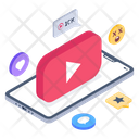 Online Video Feedback Icon