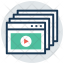 Online video lessons Icon