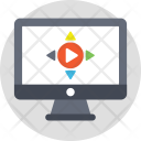 Online Video Player Icon