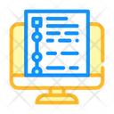 Online Educational Test Icon