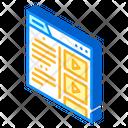Online Video Study Icon