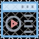 Online Videos Icon