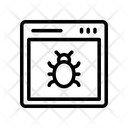 Online Virus Icon