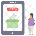 Evoting Online Voting Online Election Icon
