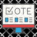 Online Voting Vote Icon