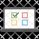 Online Voting Icon
