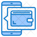Online Wallet Mobilephone Smartphone Icon