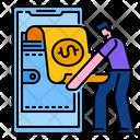 Wallet Money Digital Icon