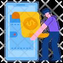 Online Wallet Wallet Money Icon