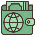 Online Wallet International Icon