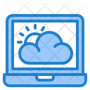 Online Weather Weather Cloud Icon