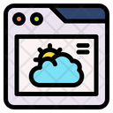 Online Weather Weather Forecast Forecast Icon
