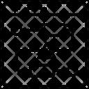 Online Web Algorithm Flowchart Diagram Icon