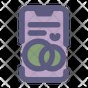 Online Wedding App Icon