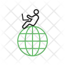 Online Work Human Icon