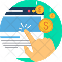 Online Work Online Business E Commerce Icon
