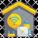 Online Working Internet Wireless Icon