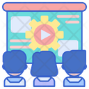 Online Workshop Training Workshop Icon