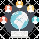 Online worldwide Icon