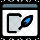 Online Write Icon