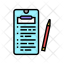 Clipboard Online Write Note Application Icon