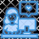 Blogger Content Copywriter Icon