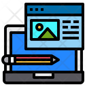 Onlie Writing Website Icon