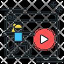 Monline Yoga Online Yoga Yoga Video Icon