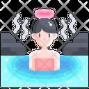 Onsen Hot Spring Spa Icon