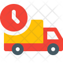 Ontime Delivery Truck Icon
