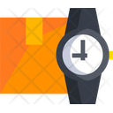 Ontime Delivery Package Delivery Time Icon