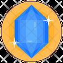 Gemstone Diamond Emerald Icon