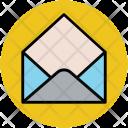 Open Letter Envelop Icon