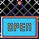Open Label Tag Icon