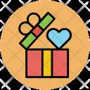 Open Box Gift Icon