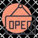 Open Hanger Hang Icon