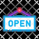 Open Door Message Icon