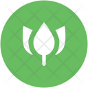 Open Rose Bud Icon