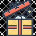 Open Unlatch Package Icon