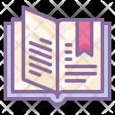 Open Book Catalog Icon
