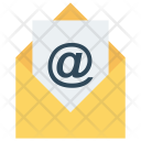 Open Email Message Icon