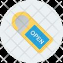 Open Door Hanger Icon
