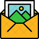 Open Mail Picture Icon