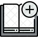 Open Book Add Icon