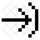 Open Arrow Icon