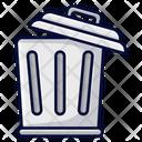 Open Bin Bin Trash Bin Icon