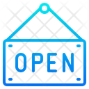 Open Shopping Label Icon