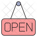 Open Shop Board Icon