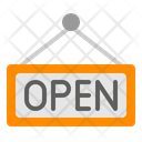 Open Shop Restaurant Icon